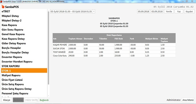 SambaPOS%20V5%20Stok%20Re%C3%A7ete%20Envanter%20Hareketi